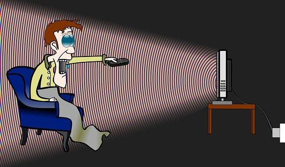 addiction à la TV