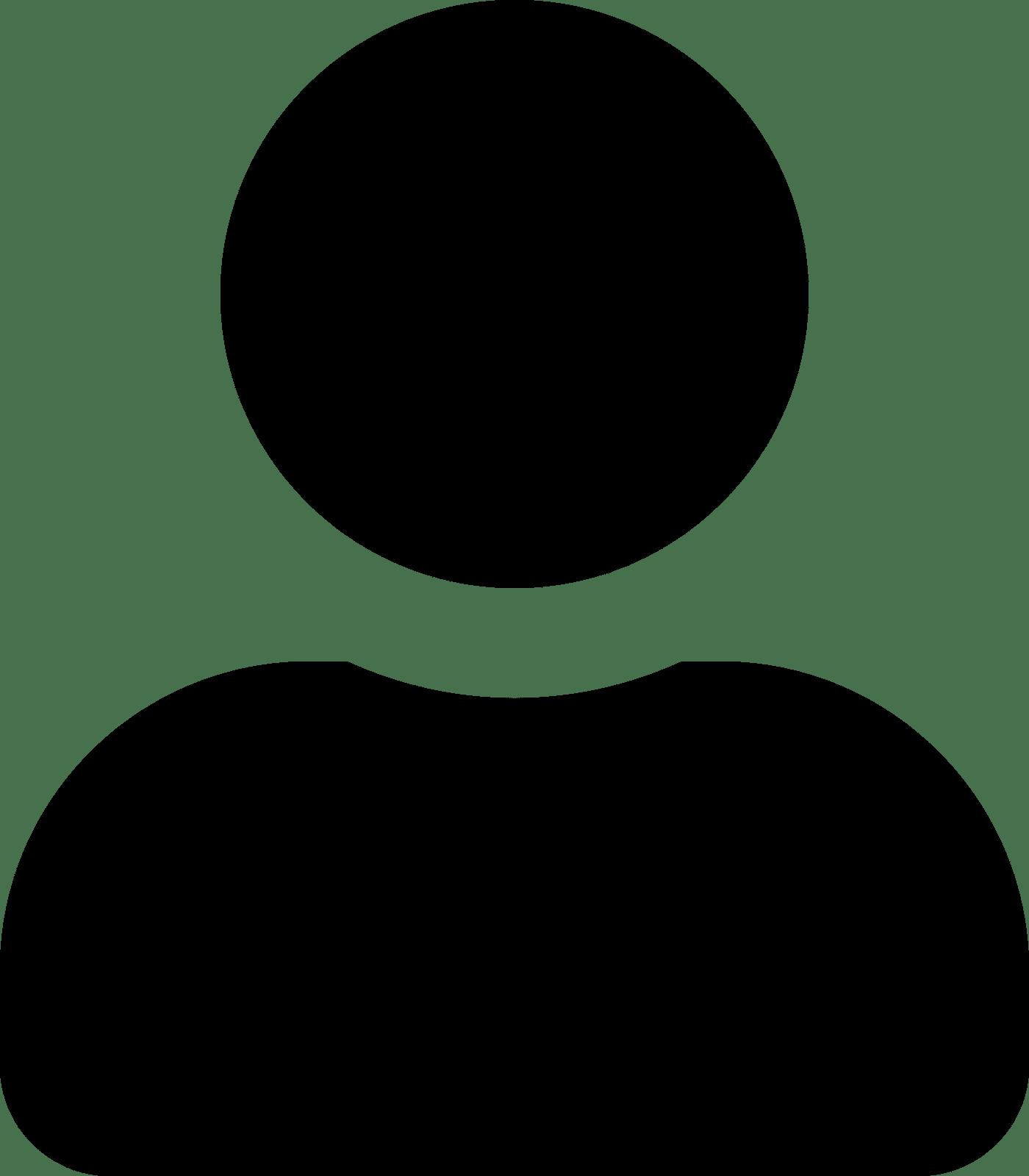 Icone une personne