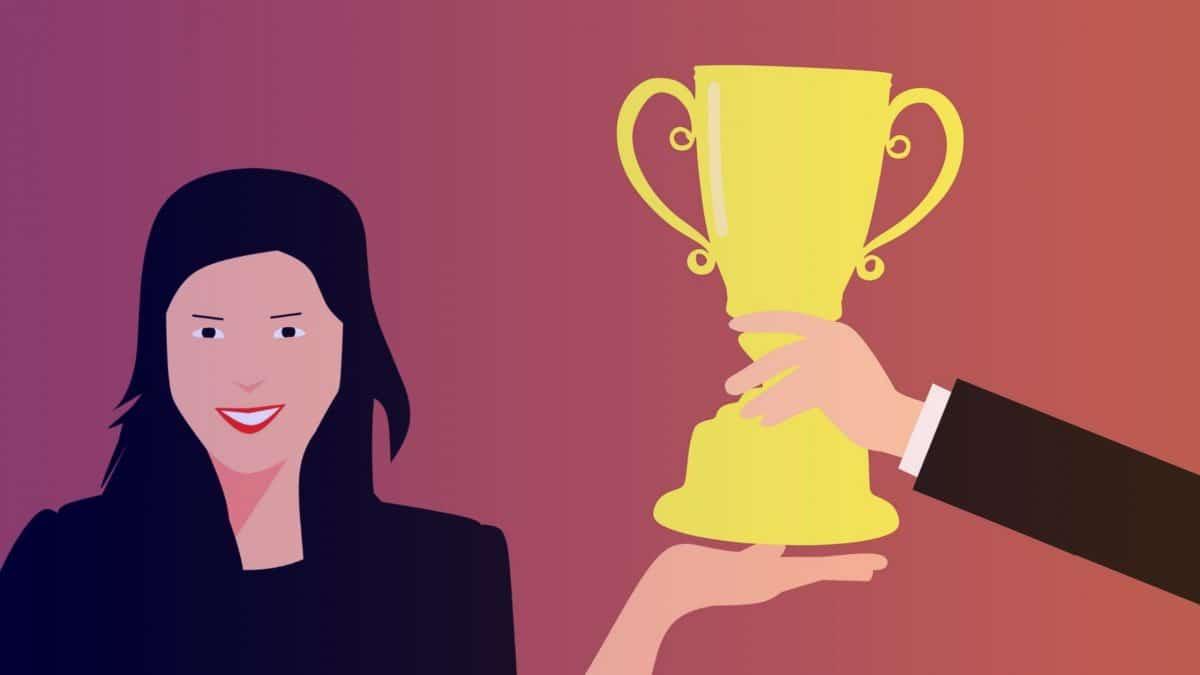 Illustration d'une motivation extrinsèque : la récompense