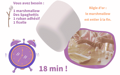 Le Marshmallow Challenge, l'atelier de l'empirisme