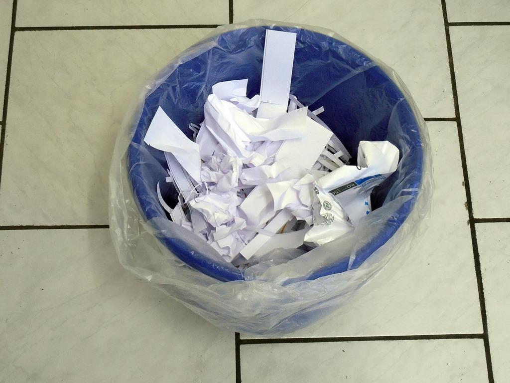 équipes très peu performantes : plus de déchets que d'origamis terminés